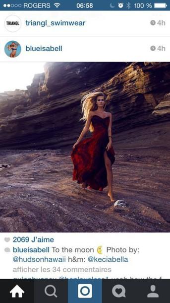 dress gown red dress redwine long dress prom dress maxi maxi dress ball gown dress