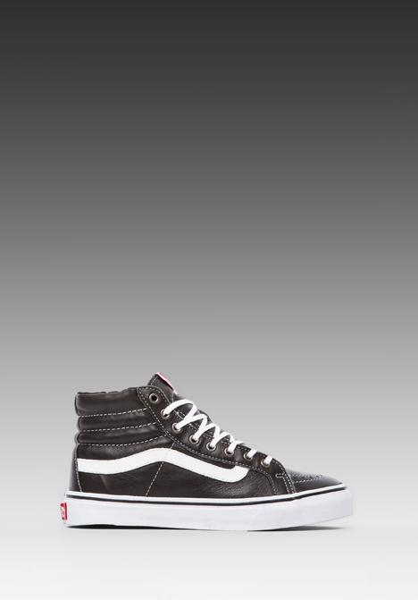 VANS SK8-HI SLIM in Black & True White at Revolve Clothing - Free Shipping!