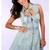 ReadyTwoMingle — Denim Studded Skater Dress