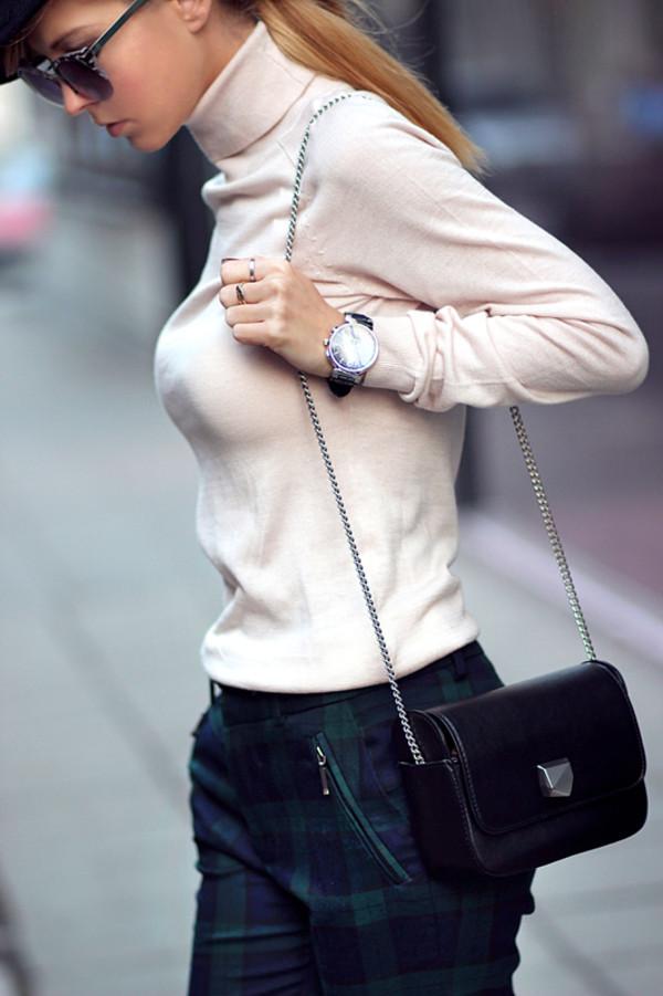 sirma markova blouse pants shoes bag jewels hat sunglasses