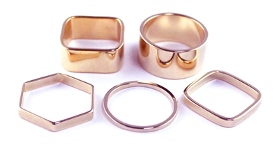 Jana Ring Set - Solid - More Colors