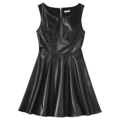 Xhilaration® Juniors Faux Leather Fit & Flar... : Target