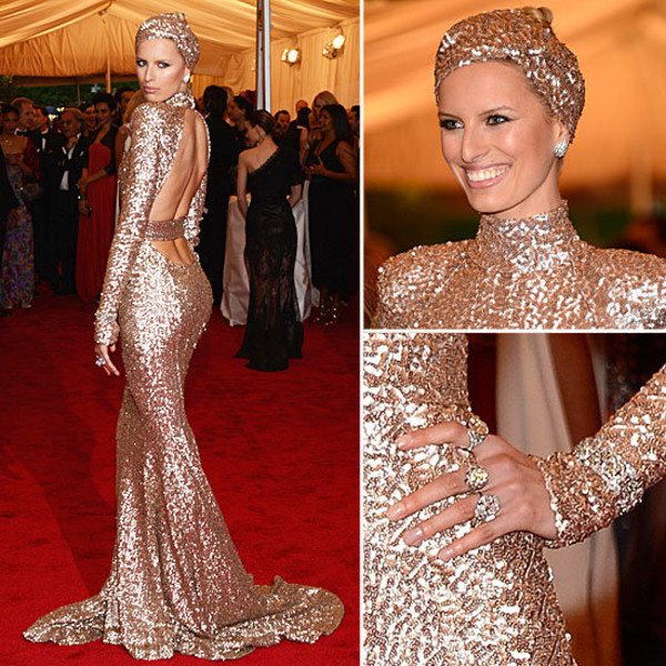 dress prom long gold sequins beautiful cut-out