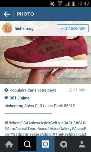 shoes asics gel lyte iii
