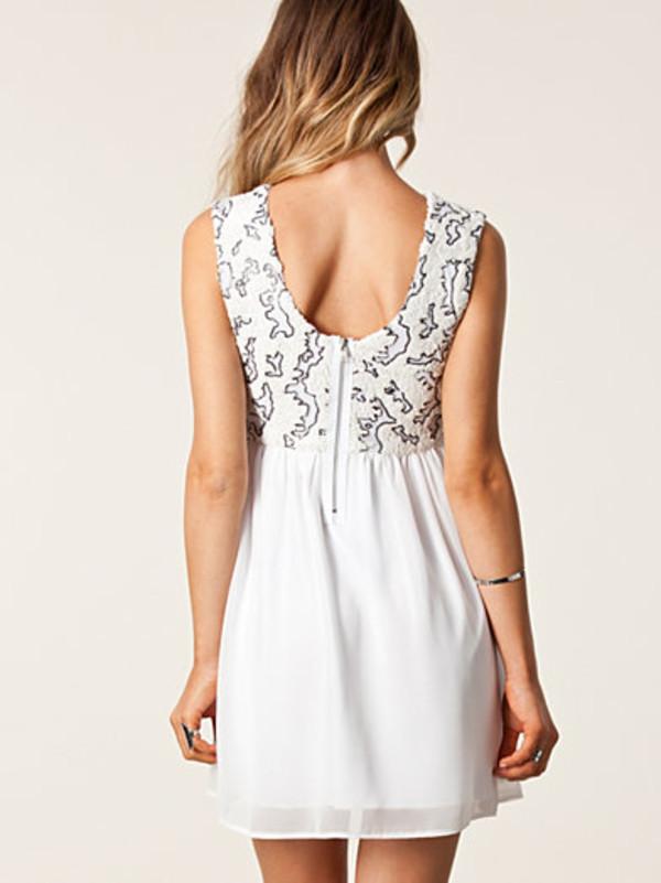 dress lovely white dress cute dress