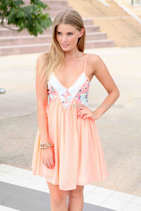 dress xeniaboutique ootn day dress mini dress party dress orange dress women's clothing and accessories casual dress