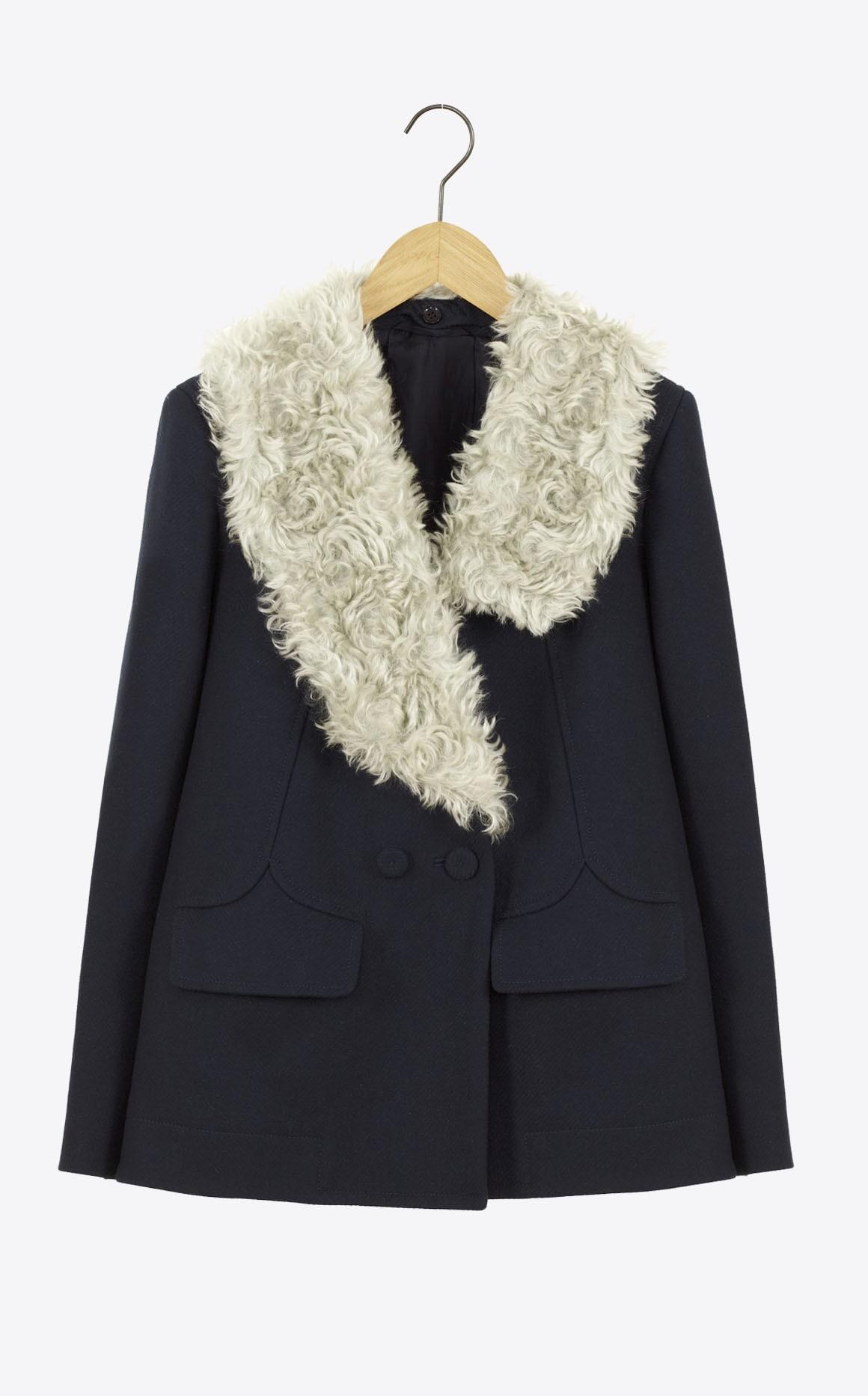 Manteau drap caban