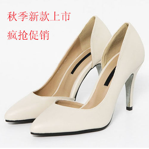 Free Shipping 2013 New Women's fashion shoes pointed toe Fenale pumps high heeled shallow mouth sexy comfortable Free Shipping on Aliexpress.com
