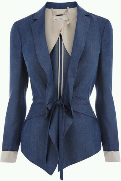 jacket blue blazer