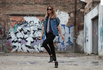 my daily style jacket jeans shoes