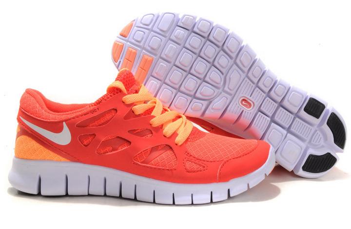 Nike Free Run 2 Damen Schuhe Orange (MJ415) -  - €57.55