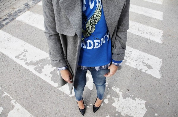 my daily style coat sweater shirt shoes sunglasses