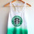 Starbucks Tie Dye Tank Top on Wanelo