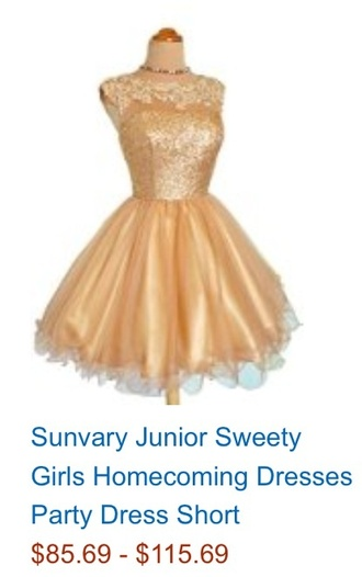 amazon gold beauty and the beast belle homecoming dress