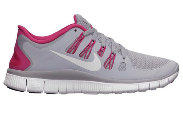 shoes grey and pink nike