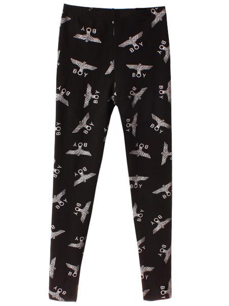 Eagle Boy Print Leggings | Outfit Made