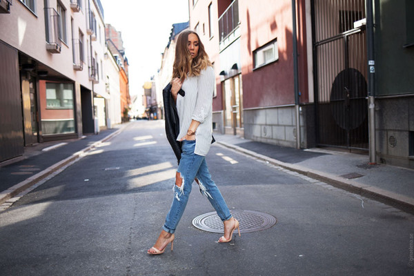 lisa olsson top shoes jeans