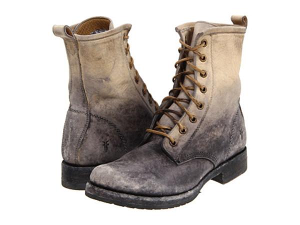 shoes boots lace boots frye veronica combat combat boots