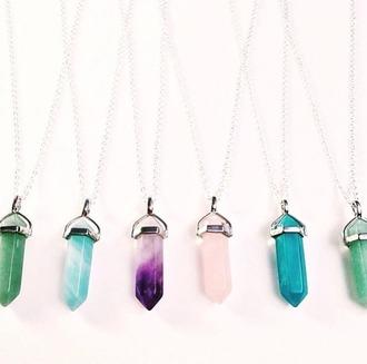 jewels collier crystal quartz crystal hair accessory