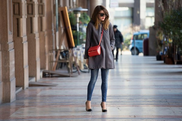 scent of obsession coat jeans bag shoes