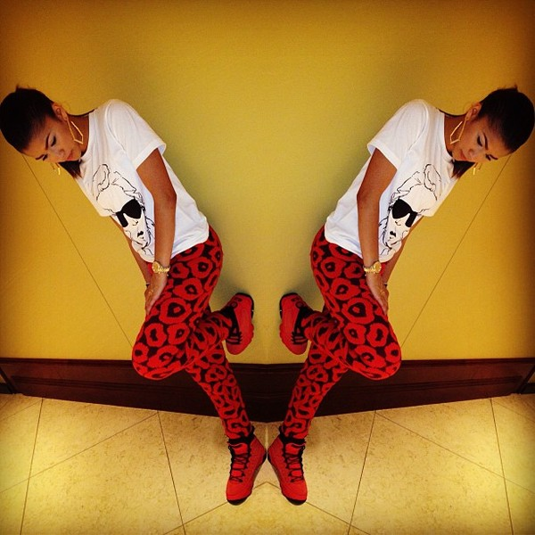 jeans red zendaya red pants