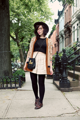 keiko lynn hat top shorts shoes bag cardigan