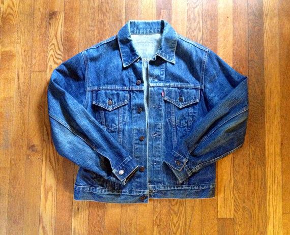 Vintage Men's Levi's Denim Jacket by avintagecamper on Etsy