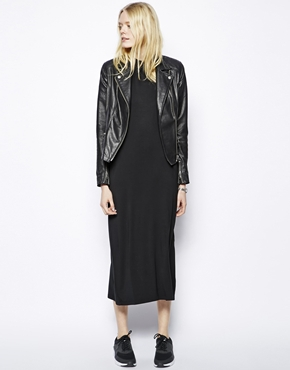 Just Female | Just Female High Neck Maxi Dress at ASOS