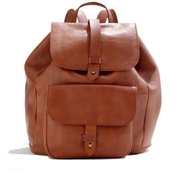 bag rucksack backpack school bag brown