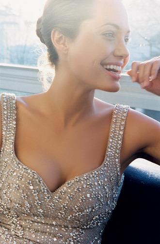 dress angelina jolie sparkle sparkly dress elegant elegant dress prom dress sequins maxi dress
