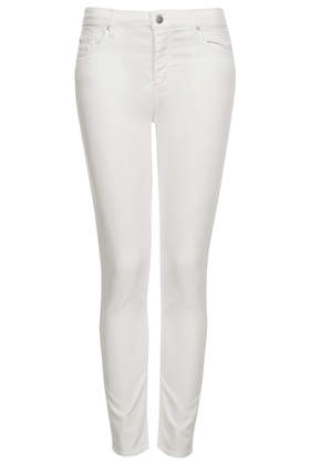 MOTO Winter White Leigh Jeans - Jeans  - Clothing  - Topshop