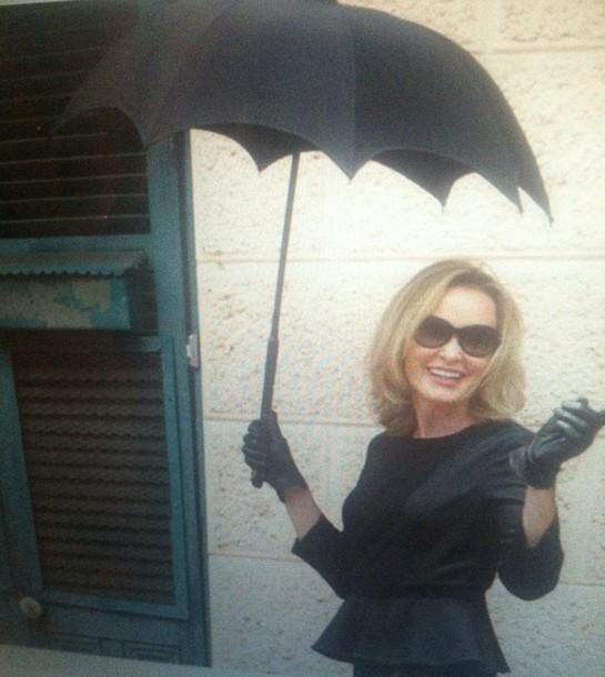 umbrella black earphones