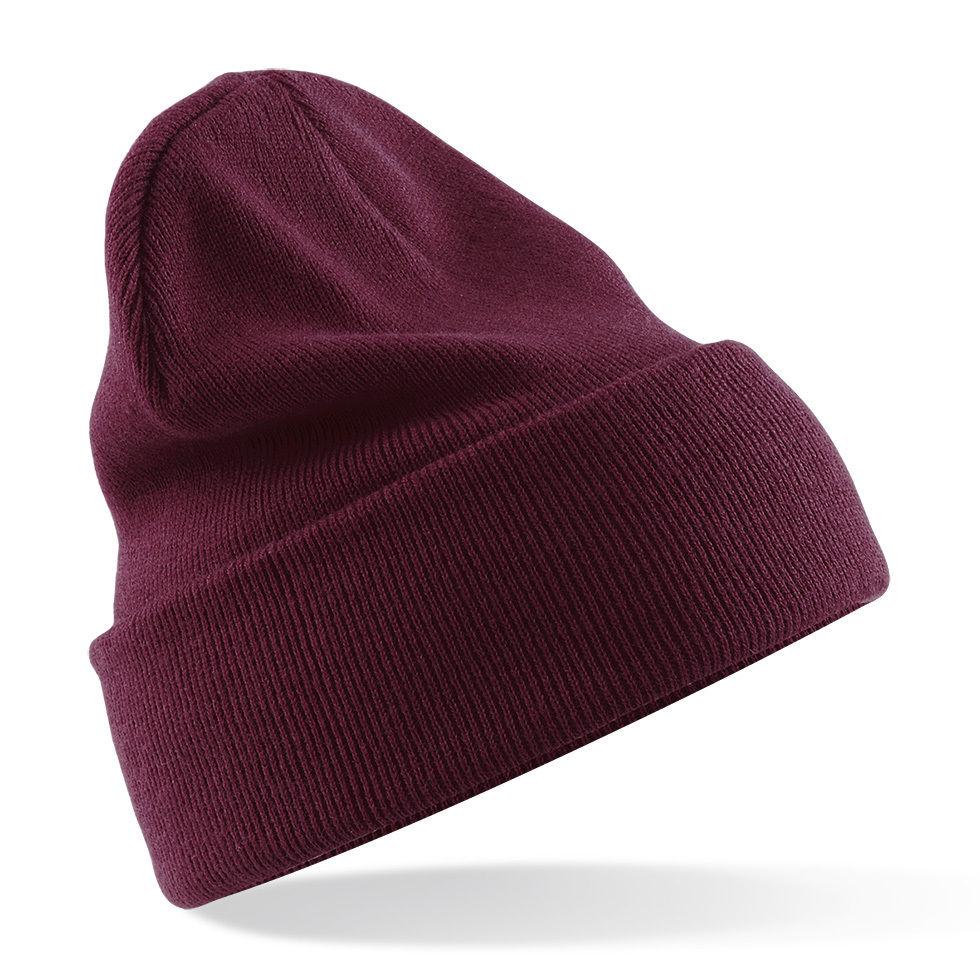 Turn-Up Beanie Hat - 25 Colours - Brand New | eBay
