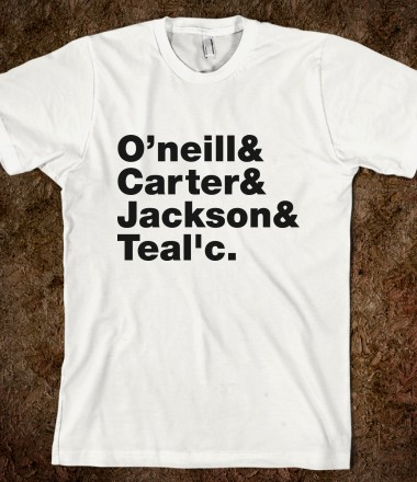 Stargate SG-1 Team  - Noemi Huang - Skreened T-shirts, Organic Shirts, Hoodies, Kids Tees, Baby One-Pieces and Tote Bags Custom T-Shirts, Organic Shirts, Hoodies, Novelty Gifts, Kids Apparel, Baby One-Pieces | Skreened - Ethical Custom Apparel