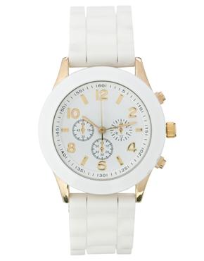 white watch | ASOS