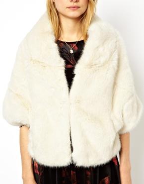 ASOS Petite   ASOS PETITE Exclusive Premium Faux Fur Stole at ASOS