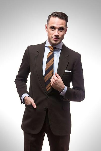 he spoke style blogger tie mens suit shirt jewels
