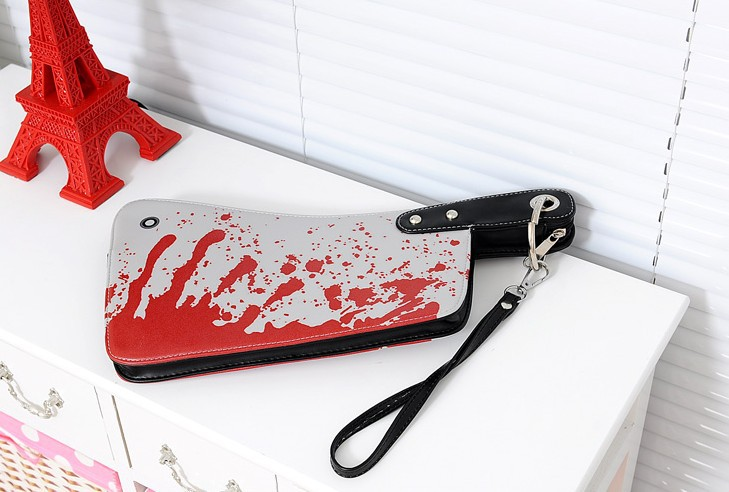 Register free shipping  2013 Newest 2013 kitchen knife clutch kitchen knife bag coin purse women's handbag bag-in Clutches from Luggage & Bags on Aliexpress.com