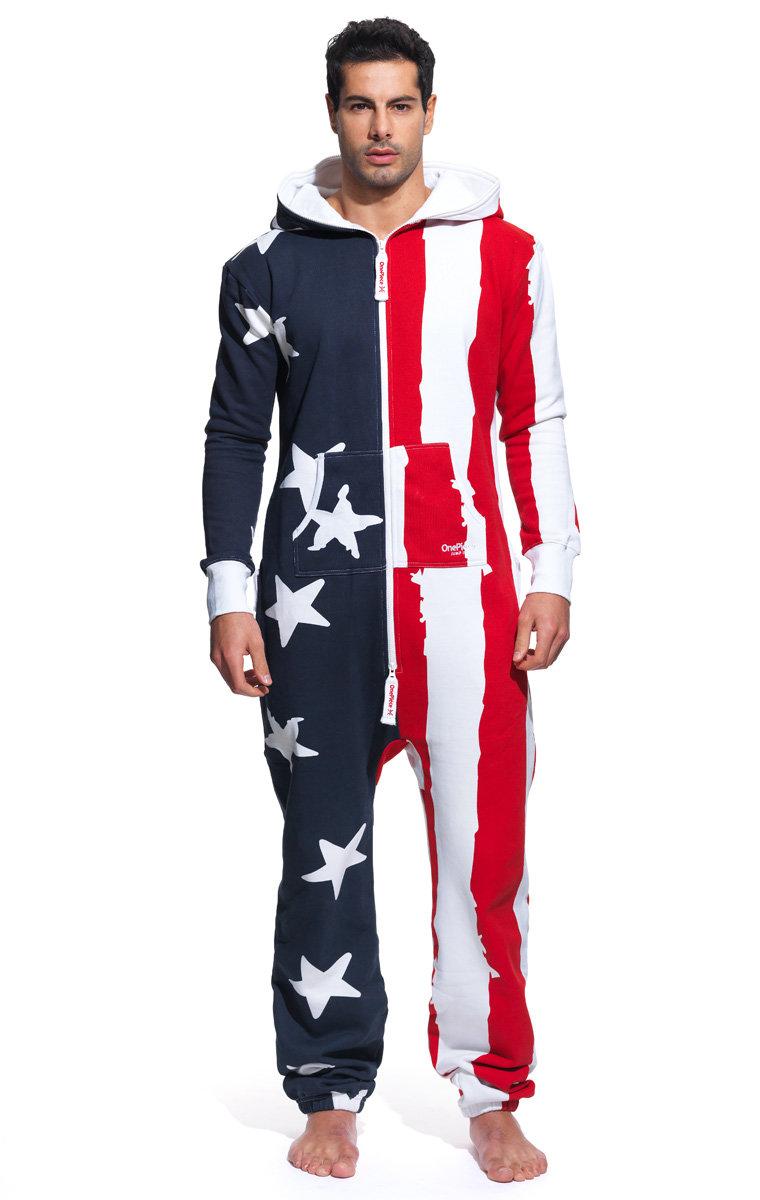 USA Onesie Stars and Stripes