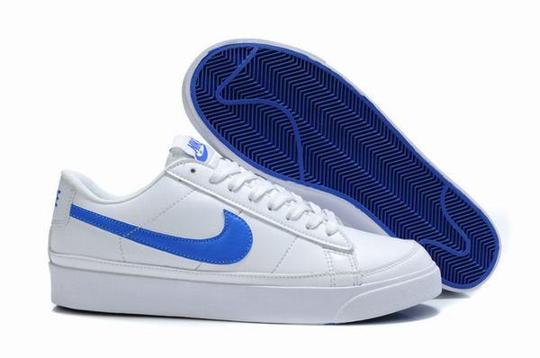 Nike Mens Blazer Traines Low ND White Varsity Blue