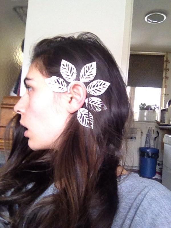 jewels earrings ear cuff silver earrings ear cuff ear jewel flower earings ear cuff jewelry