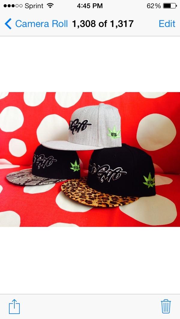 hat supreme snapback cool weed