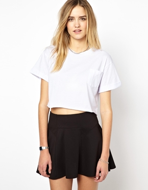 Glamorous | Glamorous Cotton Crop Tee at ASOS