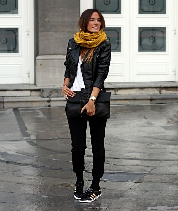 rebel attitude jacket t-shirt pants bag shoes