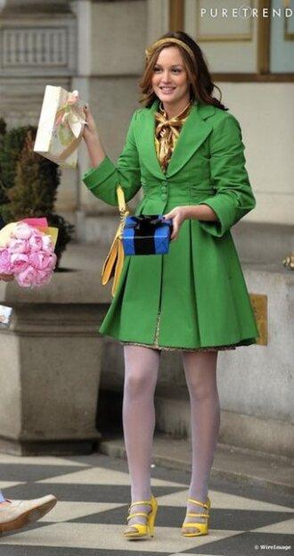 blair waldorf gossip girl leighton meester jacket blouse