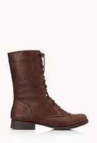Everyday Combat Boots   FOREVER21 - 2062074077