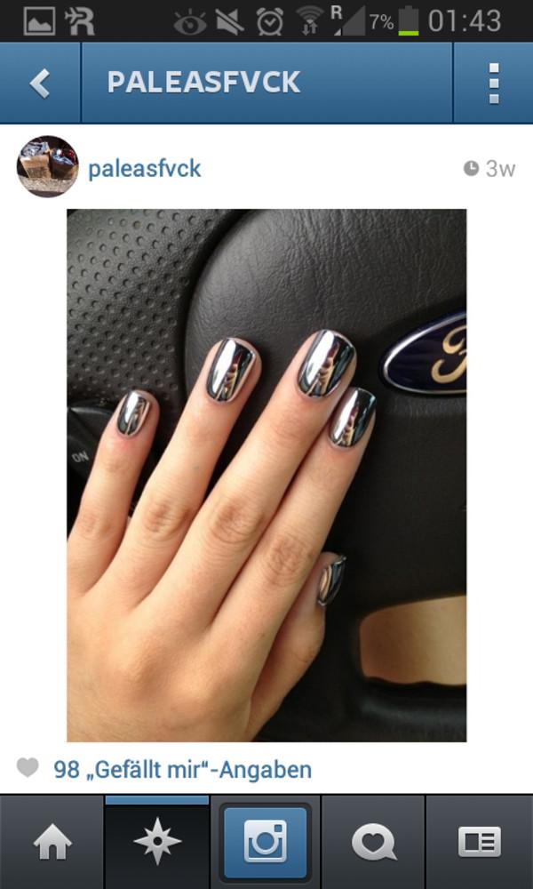 nail polish mirror nail polish classy hipster indie