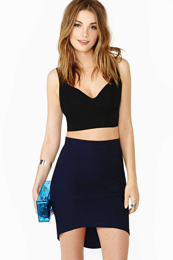 Night Heat Crop Tank in  Clothes Tops at Nasty Gal