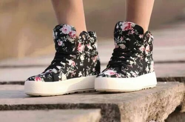 shoes floral floral flower shoes