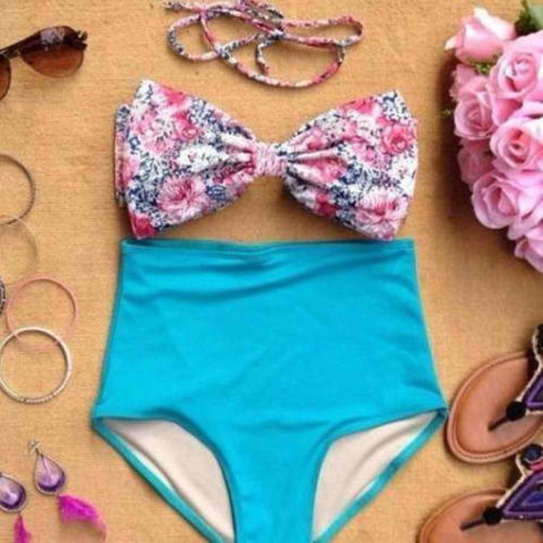 swimwear bikini bikini bottoms bikini top swimwear two piece swimwear swimwear usa retro bikini retro swimsuit stripes high waisted swimsuit bandeau tie dye string bikini swimwear swimwear underwear coral swimwear perfect